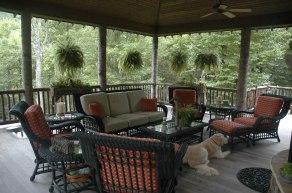 Mountain outdoor living