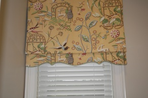 Great detail on a simple valance